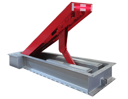 Model 833 Ultra-Shallow Mount Wedge Barrier