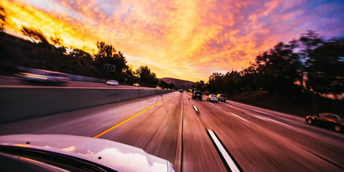 High-speed highway driving