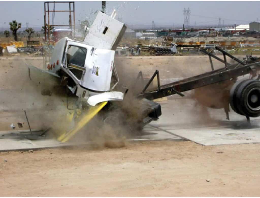 Crash barrier entry