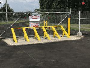 BBRSS vehicle wedge barrier